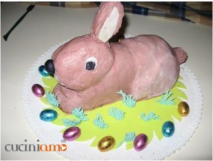 Torta coniglio pasquale