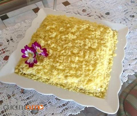Torta Mimosa pasquale