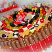 Decorazione velocissima per torte: torta di caramelle