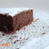 tortina al cacao e ricotta leggerissima