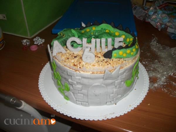 Torta Drago Sulla Torre Cuciniamo