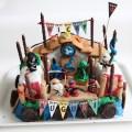 Torta tempio ninjago