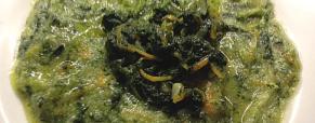 Polenta e cavolo nero