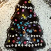 Albero di Natale cioccolatoso