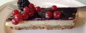 Cheesecake vegan senza glutine