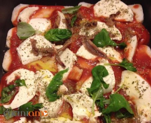 La polentizza ovvero la pizza polenta #glutenfree