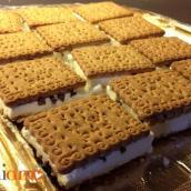 Gelato biscotto home-made