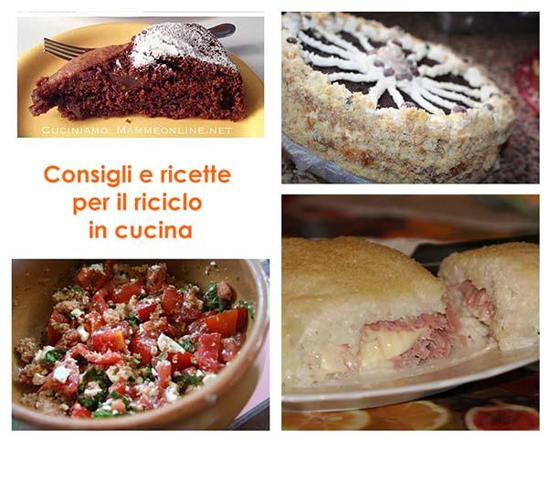 Consigli e ricette per il riciclo degli avanzi in cucina  CuciniAmO