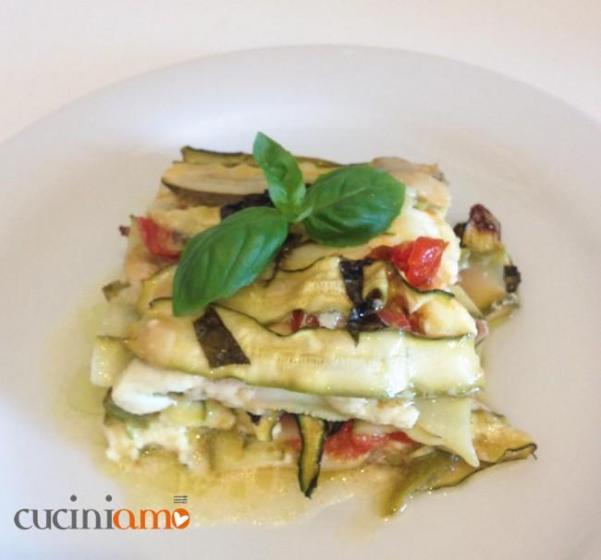 Lasagna di zucchine