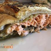 Filetto di salmone alla Wellington – fotoricetta
