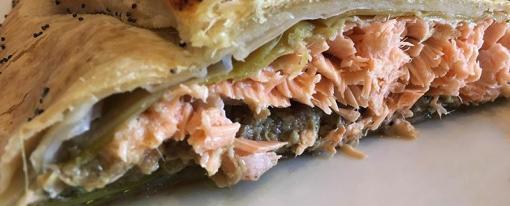 Filetto di salmone alla Wellington – fotoricetta