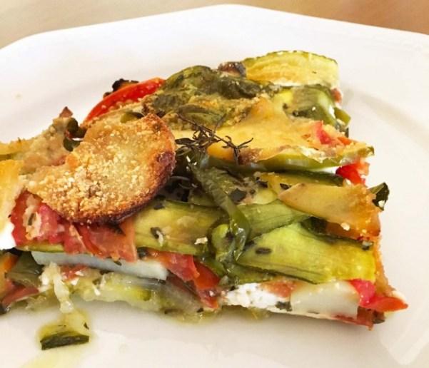 Tortini di verdure 4 stagioni
