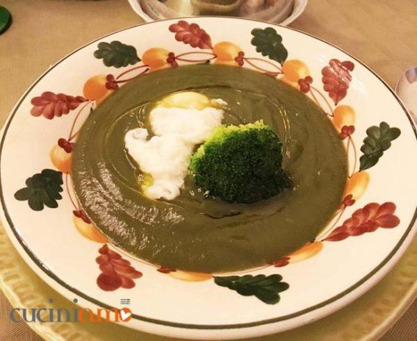 Vellutata di spinaci e broccoli