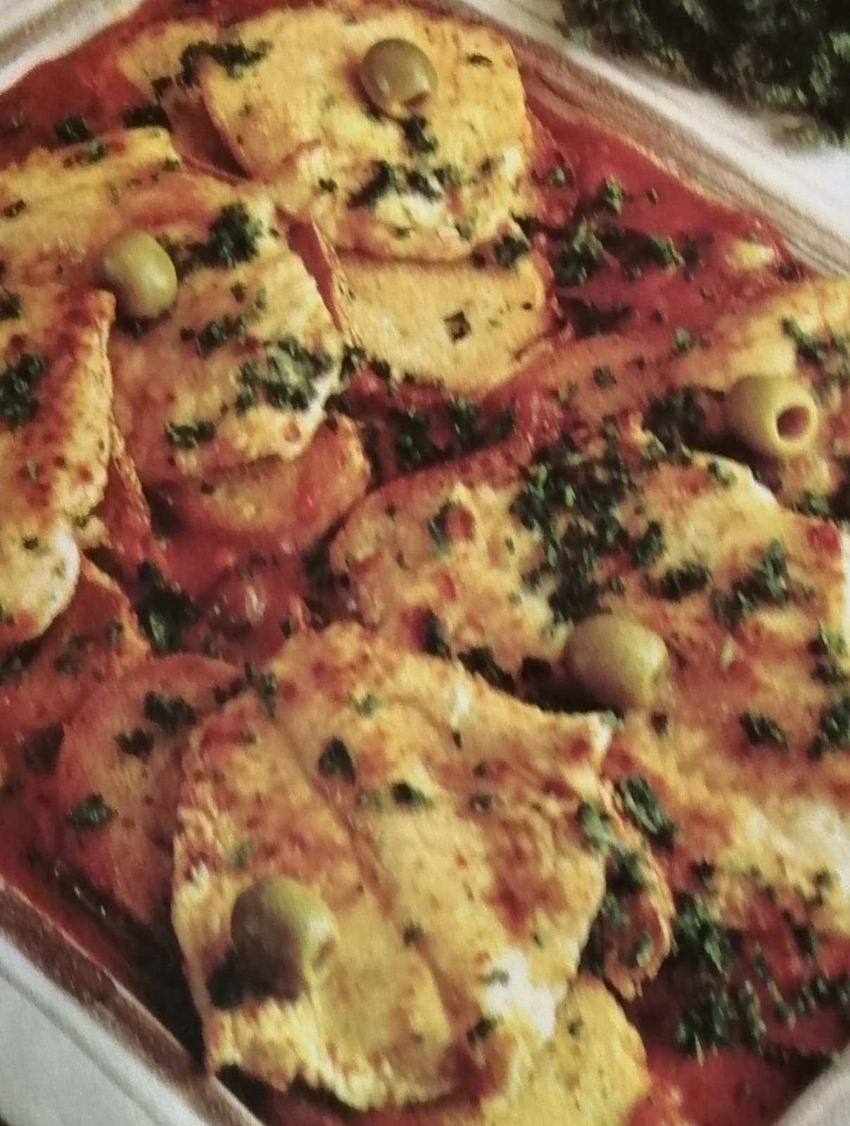 Scaloppine di vitello all'arlesiana