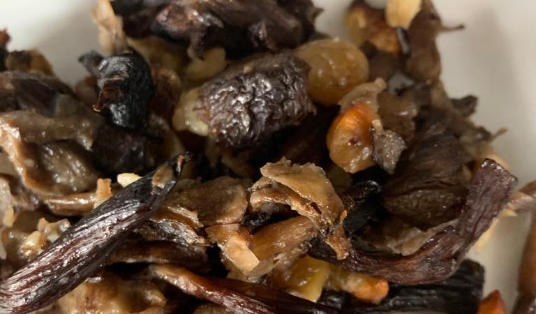 Funghi alle castagne