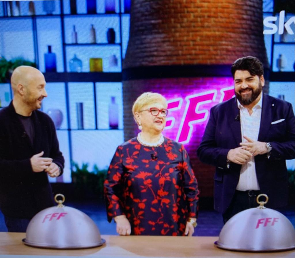 Family Food Fight con Bastianich e Cannavacciuolo