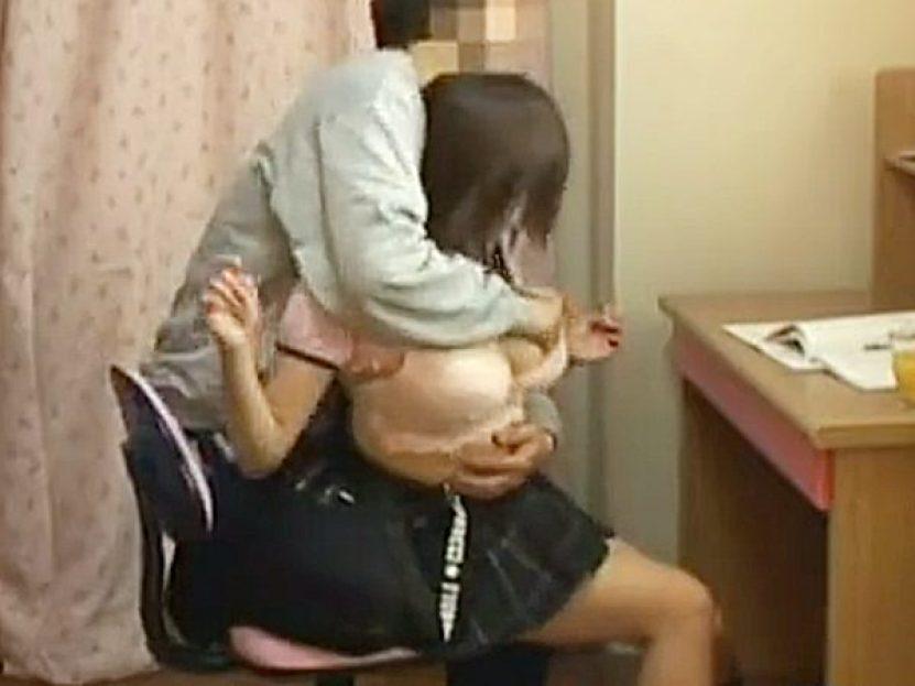 ◆家庭教師|凌辱◆『嫌じゃねぇョ、ナニ泣いてるの!』生意気なデカパイJK娘に逆ギレして襲いかかる鬼畜男!?エロ勉強するョ