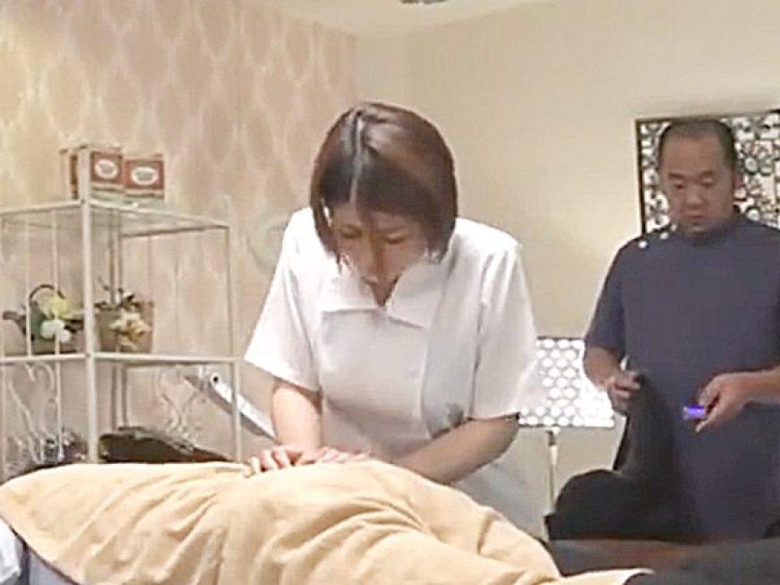 ☆エロドラマ・息子の嫁|寝取り・推川ゆうり☆息子嫁に整体医院を手伝わせ、性奴隷おもちゃにする鬼畜オヤジ。。リモバイ遊び?