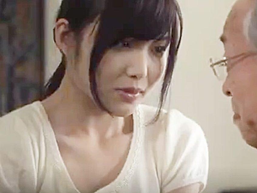 ☆エロドラマ・人妻NTR ながえスタイル・老人☆『気持ちよくシてくれますか?』セックスに自信満々ジジイに抱かれる美人奥様