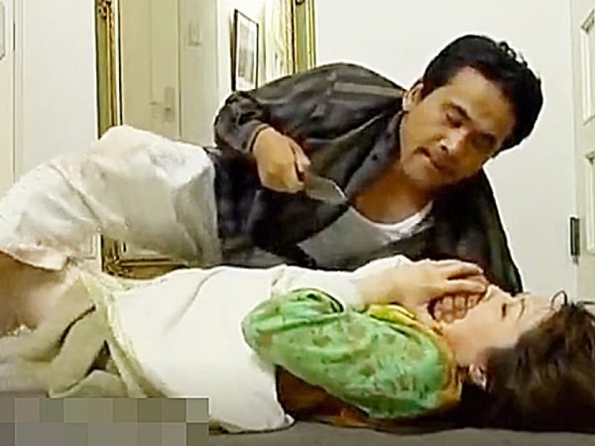 ◇エロドラマ・婦女暴行|性犯罪◇『おとなしくしろッ!いいな..』ムチムチ主婦が強姦魔に襲われます!?鬼畜男やりたい放題や