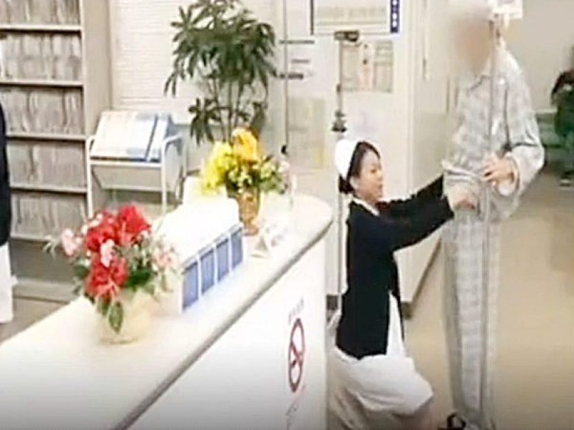 ◆エロ病院|着衣セックス◆「性交をお願いします..」『は~い、わかりました♡』患者の性処理に素早く対応するナースです!?