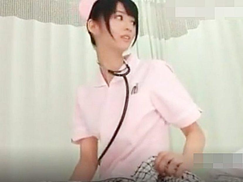 ◆着衣セックス・ナース|言いなり・性処理◆「手でお願いします!」『んもぉ~♡』スレンダー美人看護婦さん。。エロ天使やぁ~