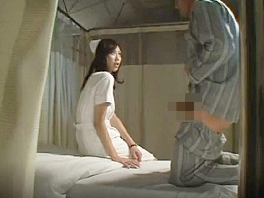 ☆夜勤ナース|寝取り☆『すごい、、おっきい..』自慢のデカチンで可愛いスレンダー看護婦を誘惑する中年エロおじさんです..