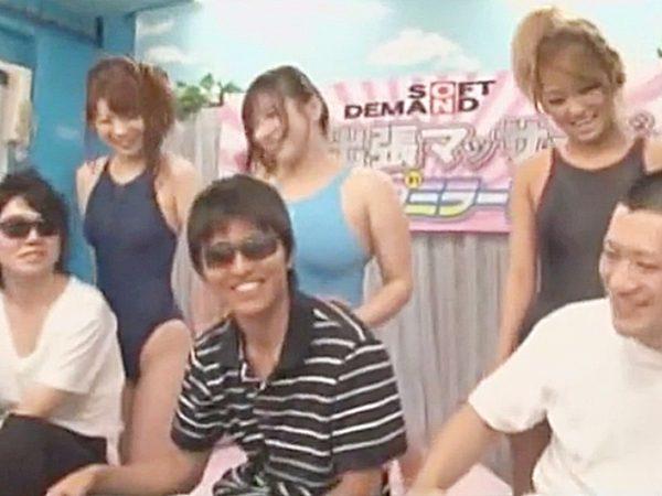 ☆素人ナンパ企画・MM号|出張マッサージ・おっぱい☆3人のデカパイAV女優が街でゲットした男子をスッキリさせちゃいますョ