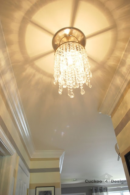 Recessed Pendant Light