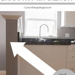 Installing Kitchen Countertop Best Inexpensive Faucet Cutting Down The Half Wall - Cuckoo4design