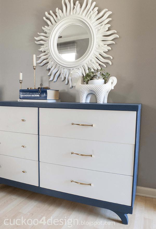 Blue And White Dresser  BestDressers 2019