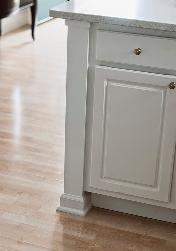 how to update laminate kitchen cabinets valences adding a counter post - cuckoo4design