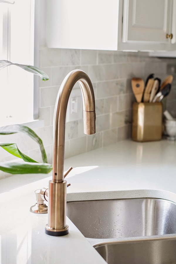 no touch kitchen faucet cart home depot our shiny new | cuckoo4design