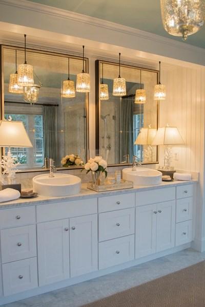 master bathroom vanity lighting ideas My visit to the HGTV Dream Home on Martha's Vineyard