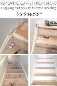 Removing Carpet from Stairs | Cuckoo4Design