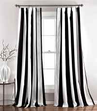 My favorite black and white curtains | Cuckoo4Design