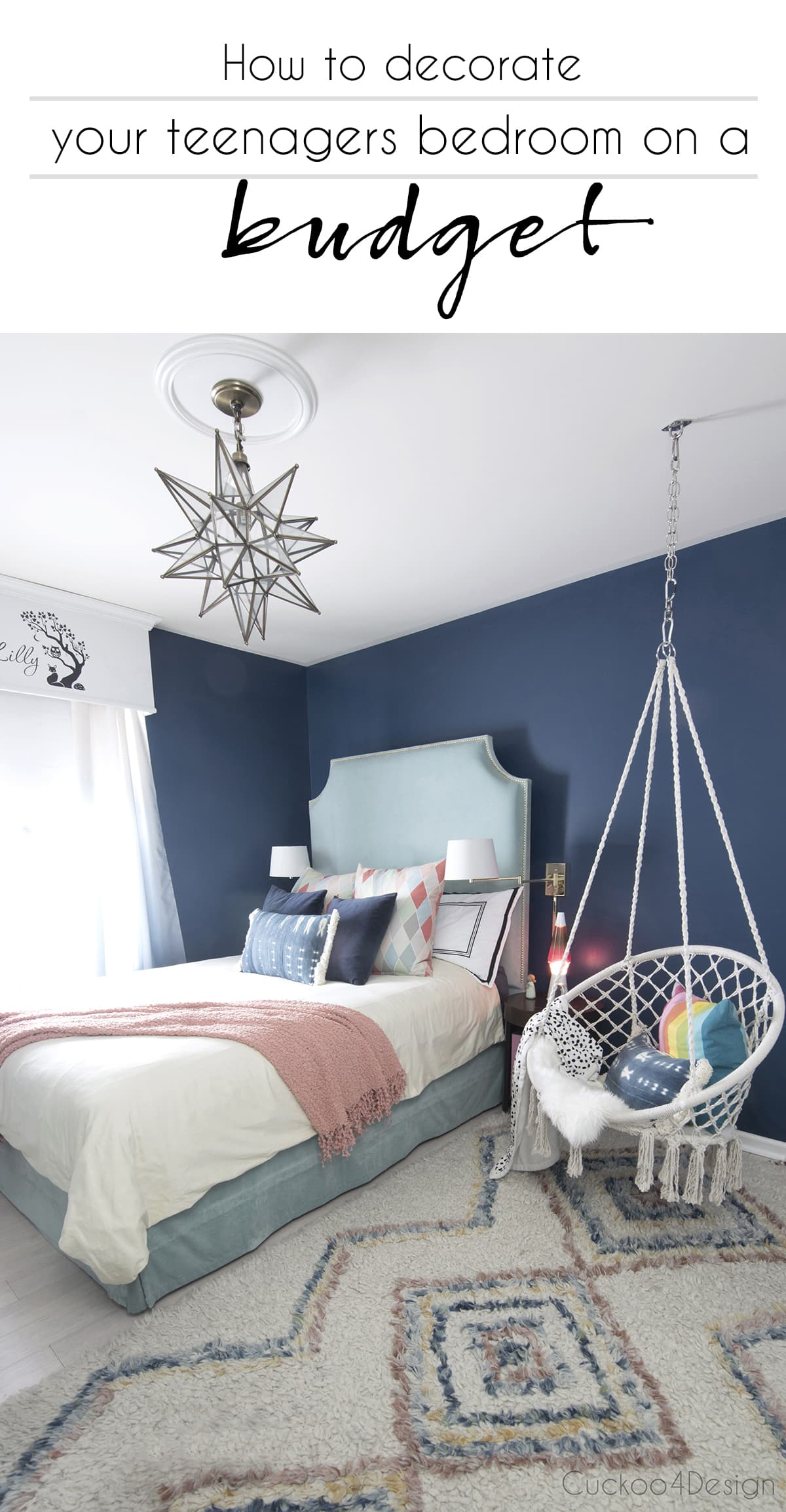 How To Decorate Your Teenagers Bedroom On A Budget