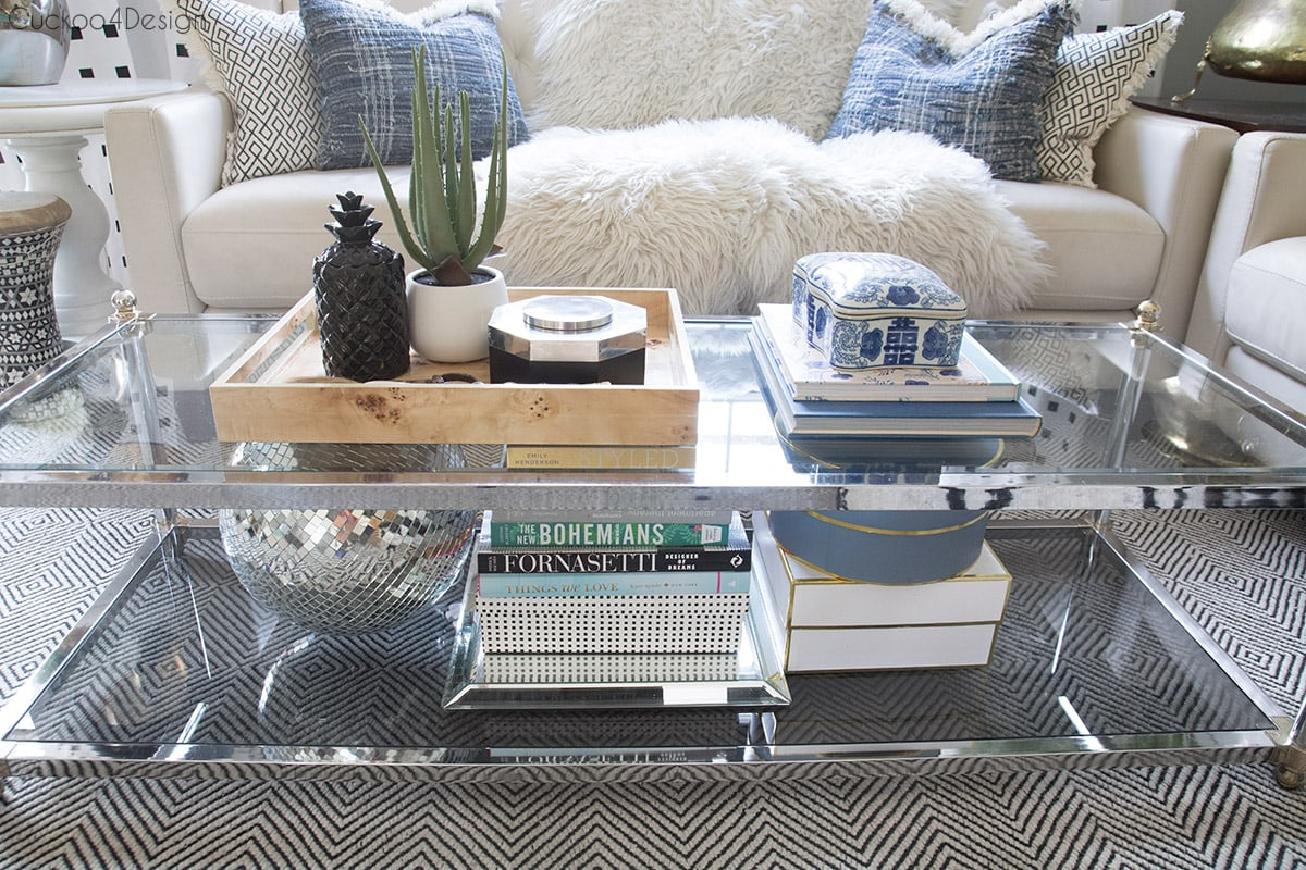 living room coffee table decorations tiny how to style a two tier cuckoo4design