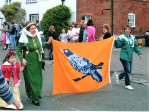 Cuckoo Fair Team at the Procession in 2005