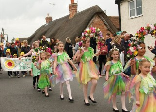 New Forest School Of Dance at the Procession in 2017