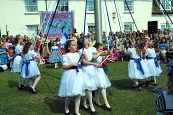 New Forest School Of Dance at the Maypole in 2011