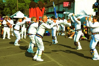 Sarum Morris at the White Horse in 2011