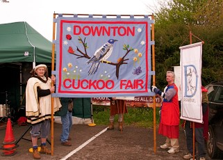 Cuckoo Fair Team at the Fair in 2012