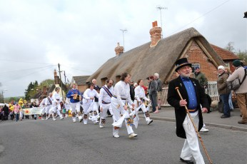 Sarum Morris at the Procession in 2013