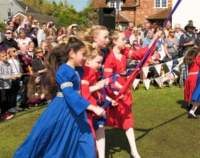 New Forest School Of Dance at the Maypole in 2014