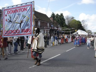 New Forest School of Dance at the Procession in 2009