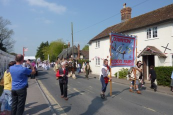 Cuckoo Fair Team at the Procession in 2011