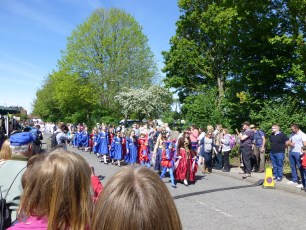 New Forest School of Dance at the Procession in 2014