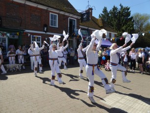 Sarum Morris at the White Horse in 2018