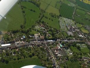 Aerial Photo at the Fair in 2018
